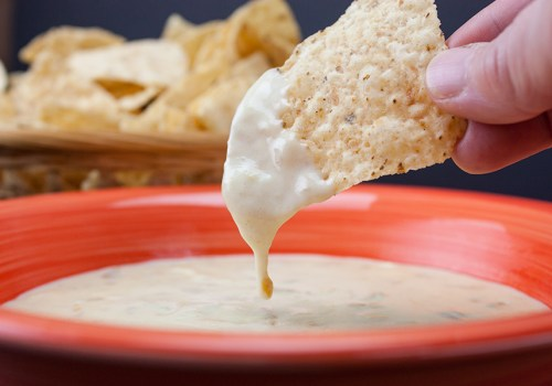 Restaurant Style Queso Dip - No Velveeta, no cream cheese! This stuff is SO GOOD!