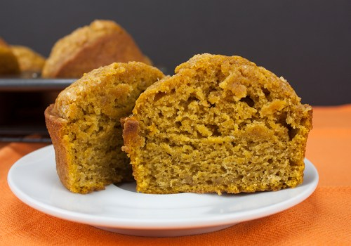 Bakery Style Pumpkin Muffins - These muffins are jumbo, moist, tender and gloriously full of pumpkin flavor.