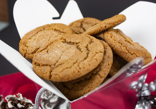 Old Fashioned Molasses Cookies - Traditional holiday cookie. Slightly crisp outside and chewy tender inside!