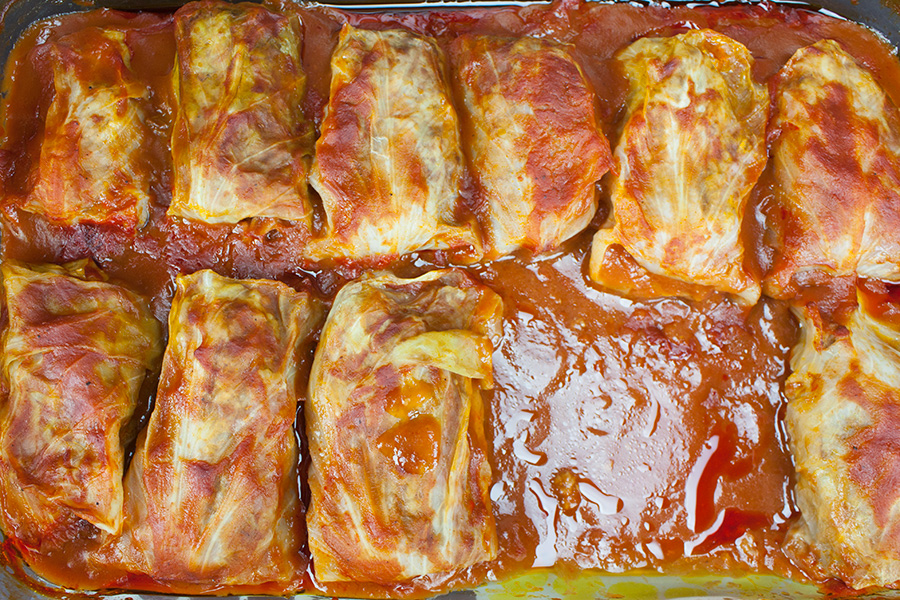 how to make homemade cabbage rolls