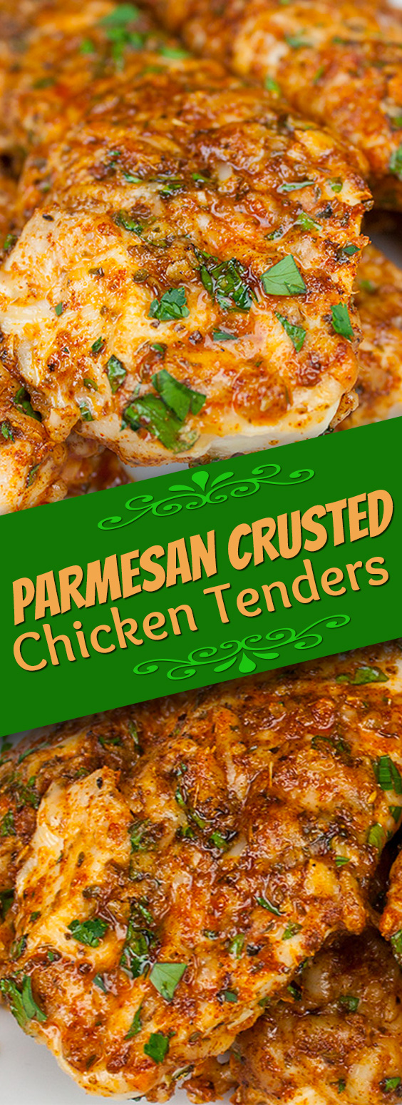 Parmesan Crusted Chicken Recipe Parmesan Crusted Chicken Tenders  Don't Sweat The Recipe