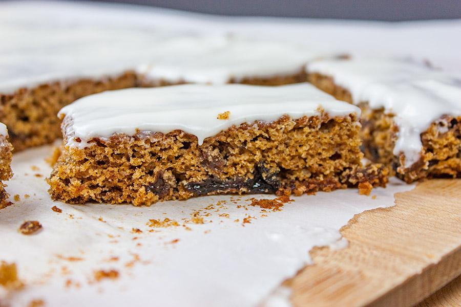 Old Fashioned Raisin Bars Recipe Clipping « m 98