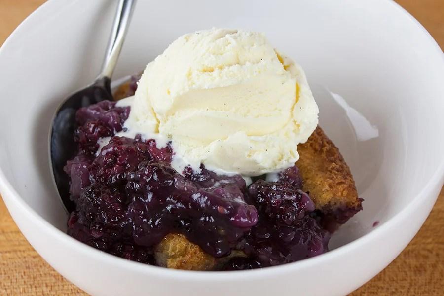Easy Blackberry Cobbler - Don't Sweat The Recipe