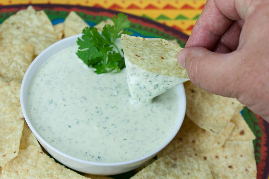 recipe: mexican ranch dip [18]