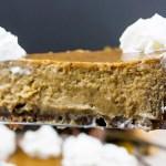 gingersnap crust pumpkin pie scratch made easy Thanksgiving Christmas recipe