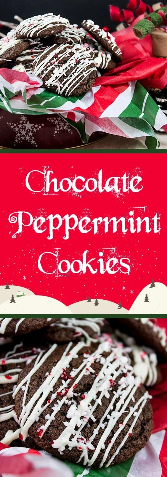 Dark Chocolate Peppermint Cake