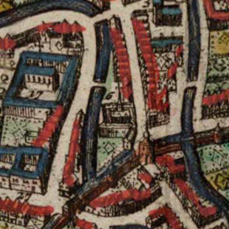 Harold Tor - Oud Leuven: Vlierbeke abdye Oratoriënhof