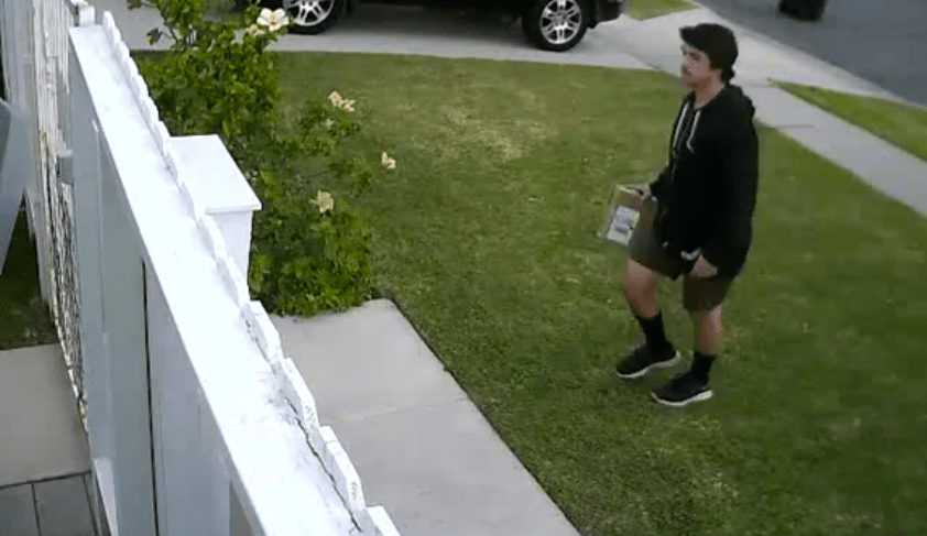 UPS Throws Package Over Fence Just Because | Don't Throw My
