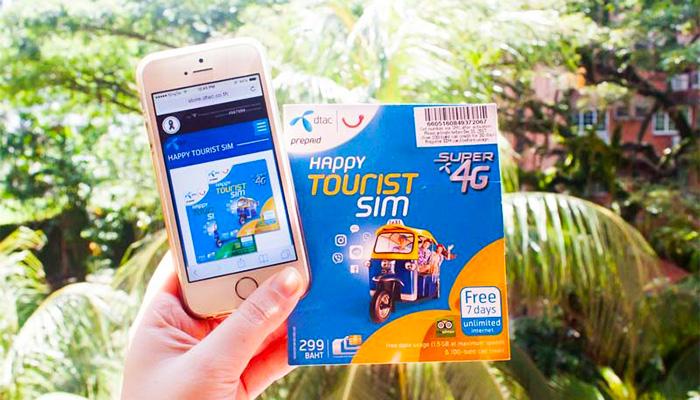 SIM du lịch và cục phát wifi