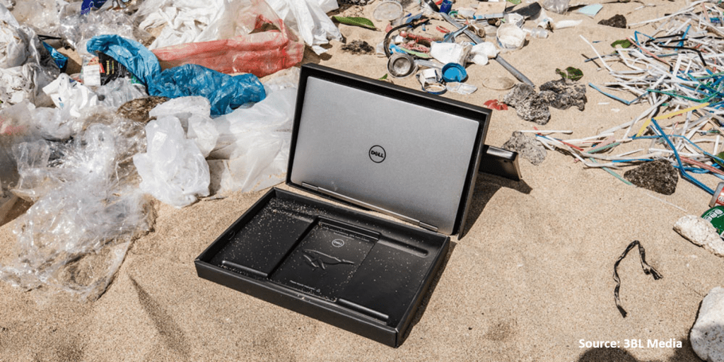 Dell Recycled Laptop Cover Ocean Plastics