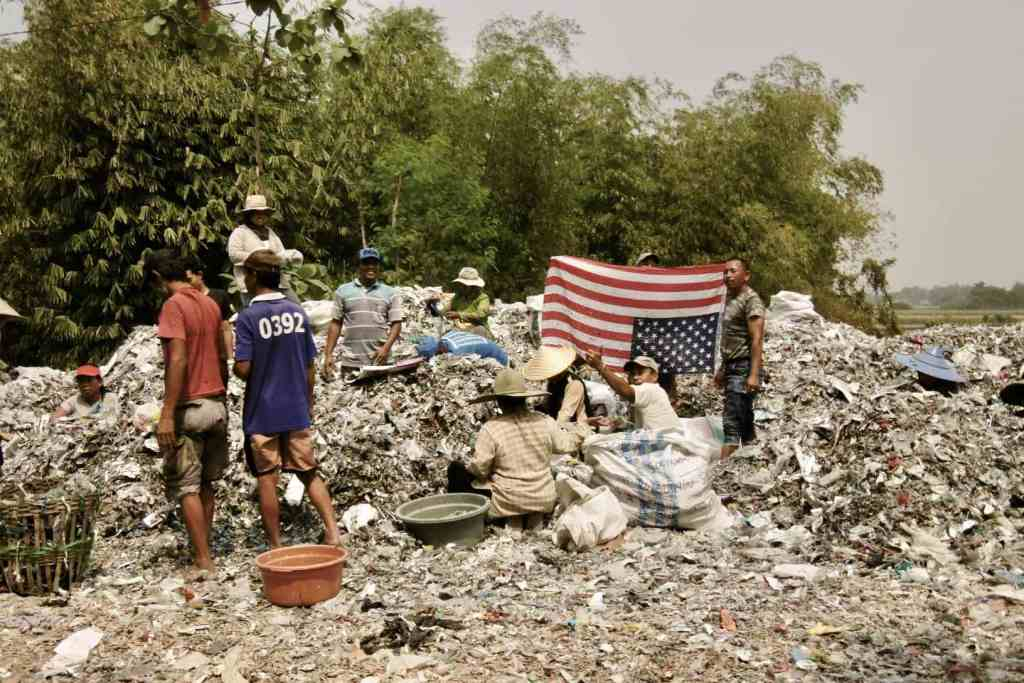 Indonesia Waste Dump