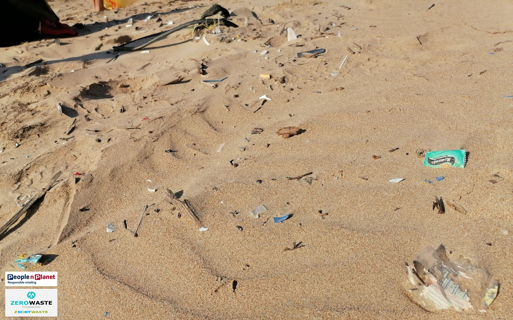 Country Club Beach Clean Up Don't Waste