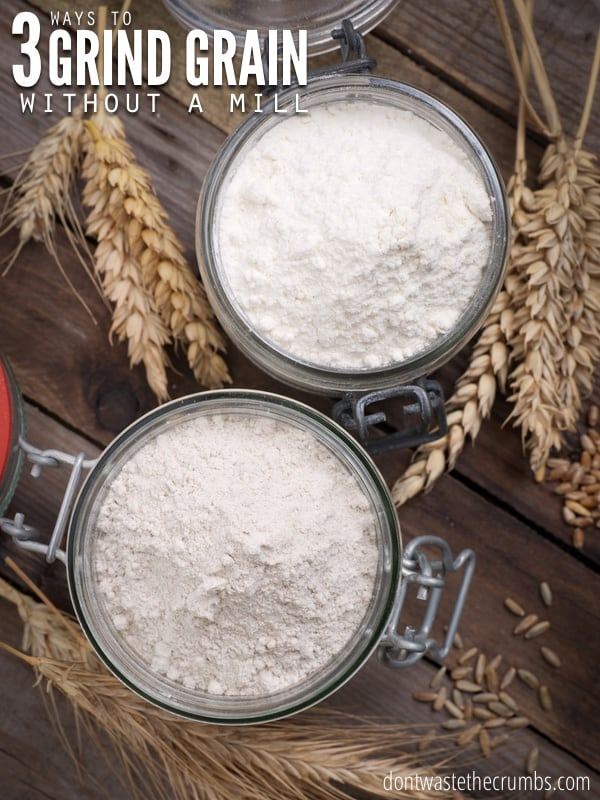 blendtec kitchen mill remodel ideas for small how to make flour without a grain   fresh ...