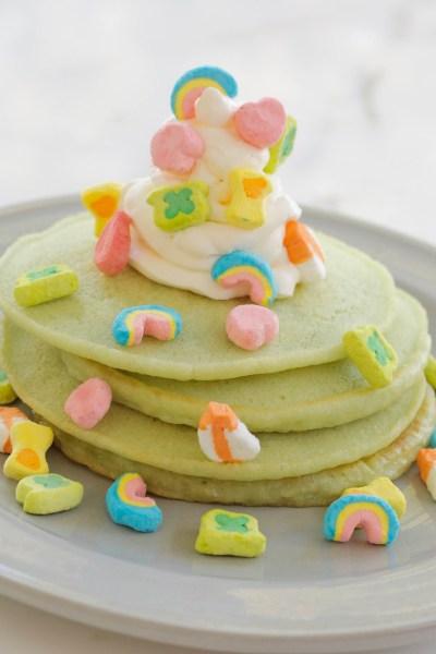 Lucky Charm Pancakes