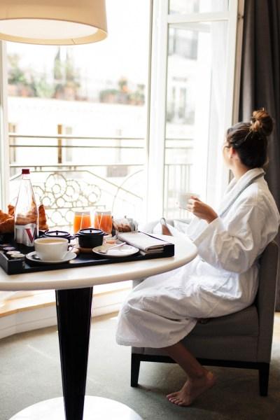 Parisian Breakfast in Bed
