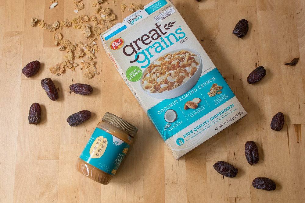 Three Ingredient Cereal Bars to #CelebrateGoodness and Seize the Day