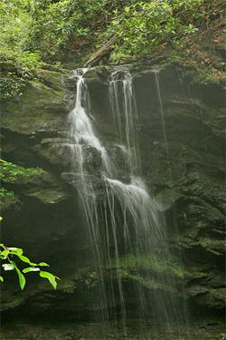 appalachian waterfall