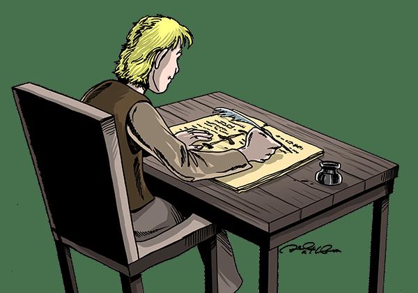 reggie writing