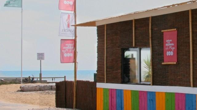 Vendée - cédéthèque de plage