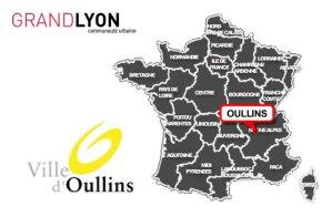 carte Oullins