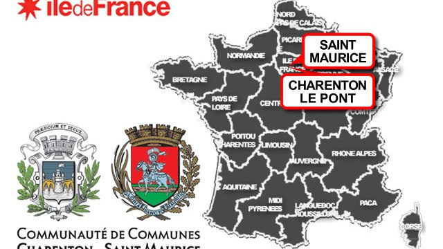 carte Charenton-le-Pont / Saint-Maurice