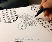 Don't Suffocate Me Doodle progress shot by Heidi Denney.jpg