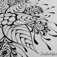 """""""Blossom Pod"""" Doodle Art"""