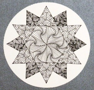 zentangle doodle patterns shapes drawing doodles drawings designs zentangles using way tangle increased being line club form