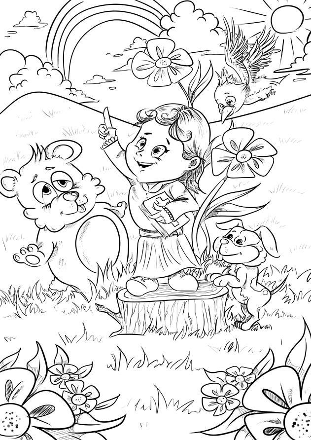 WP images: Baby coloring pages, post 7
