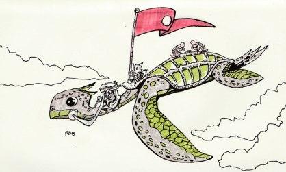Flying-Turtle