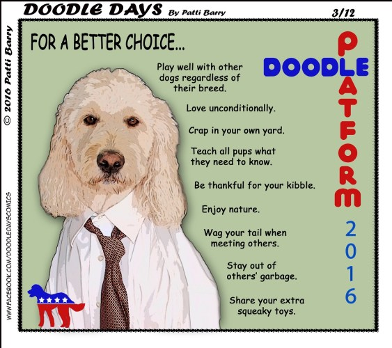 Doodle Days 3-12-16 doodle platform
