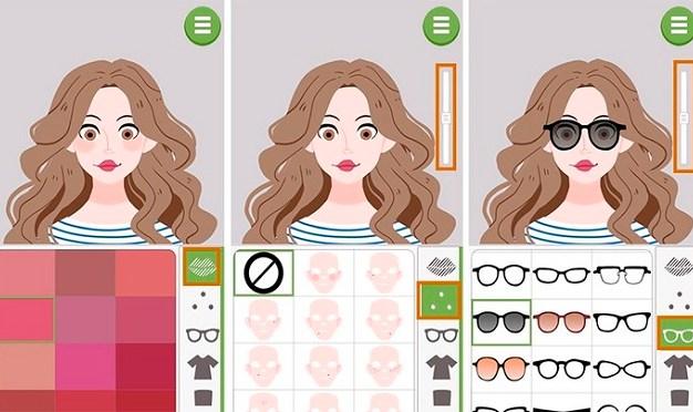 criar avatar doodle face