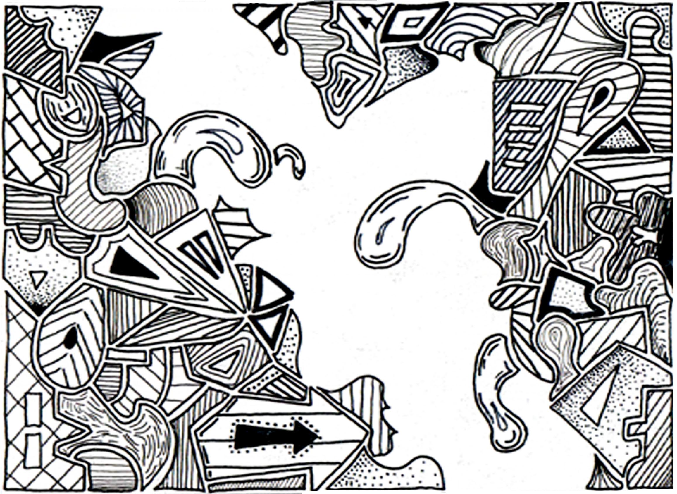 Doodle Joe Ink Outside