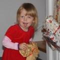 Julie, 3 år