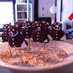 Bamse-popcakes