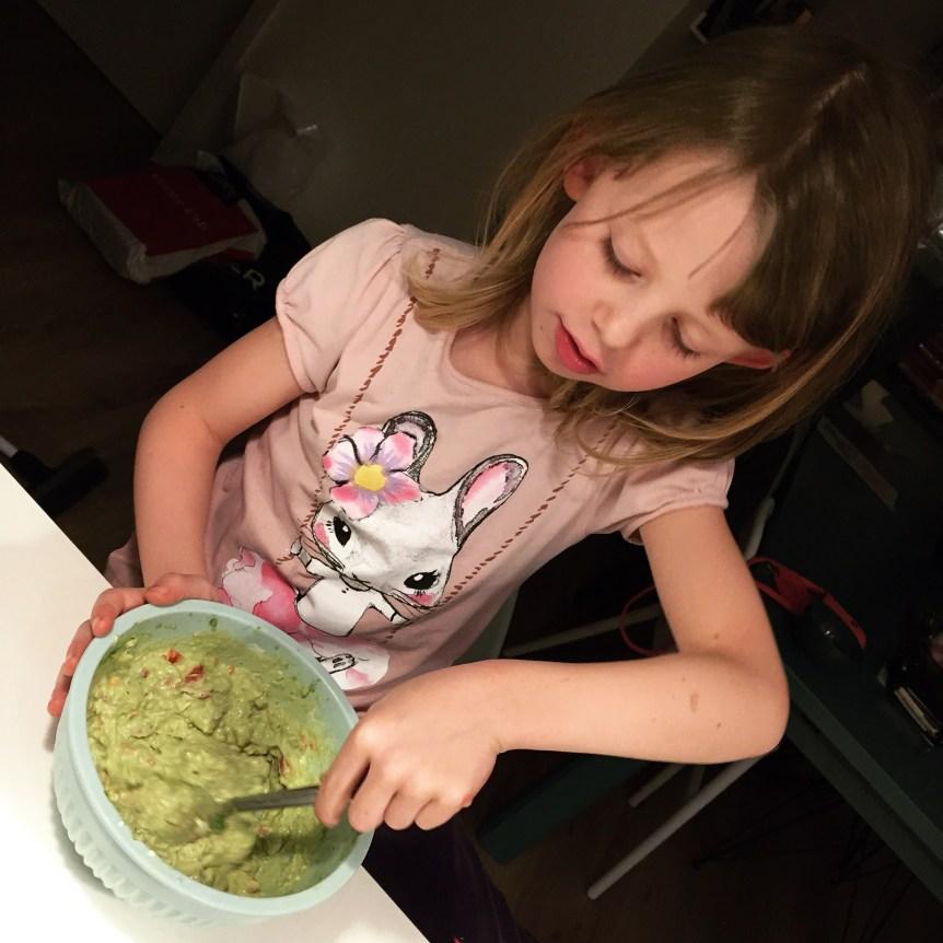 Prinsessen laver mad
