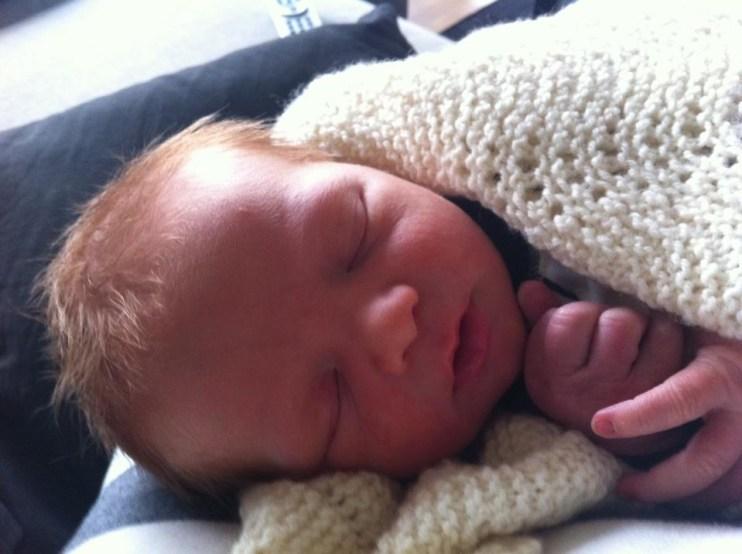Johan, 1 dag gammel
