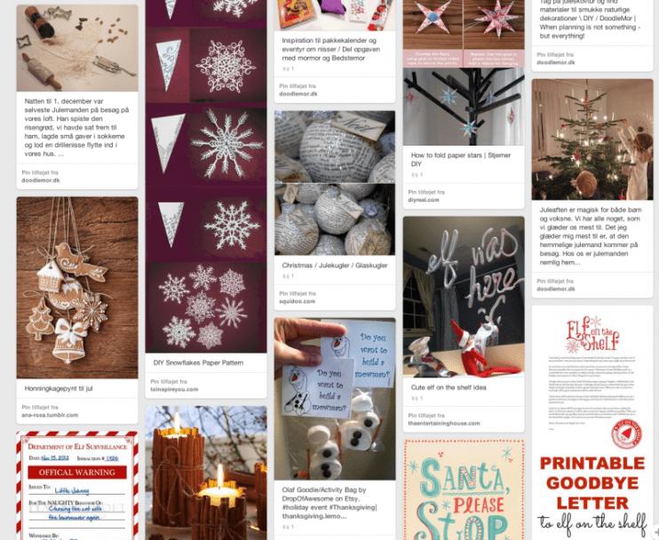 Pinterest opslagstavle