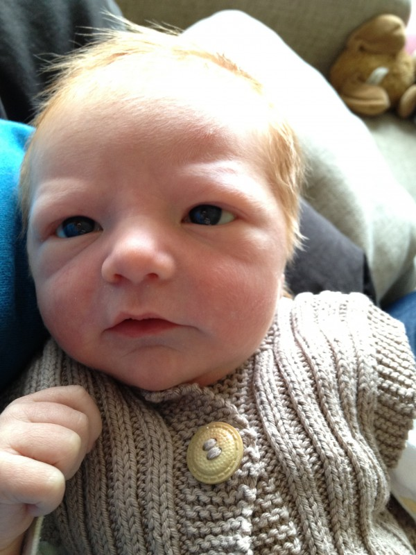 Nyfødt Johan