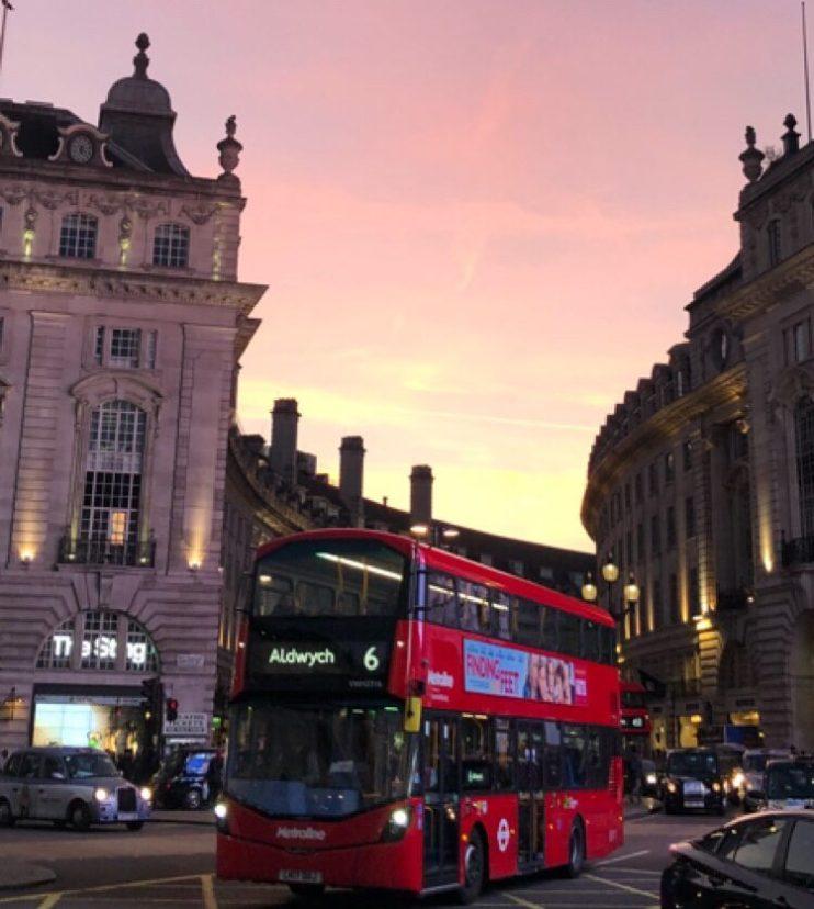 Picadelly Circus i London / Fotograf: Lone Stendal