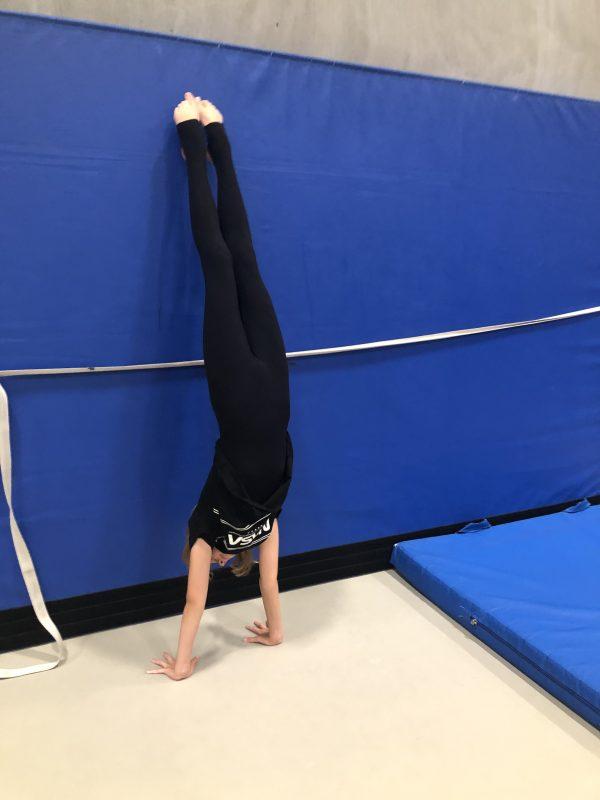 Min gymnastikpige