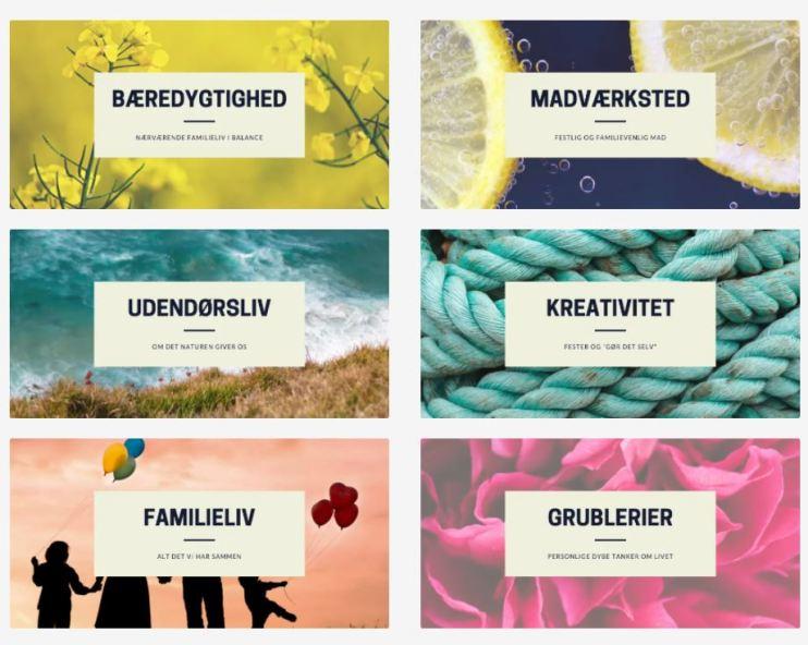 Kategorier på Doodlemor