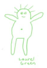 a doodle of a little man