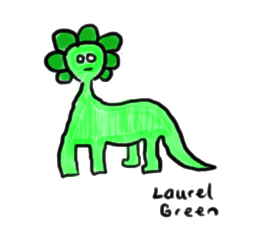 a drawing of an ugly-looking dinosaur