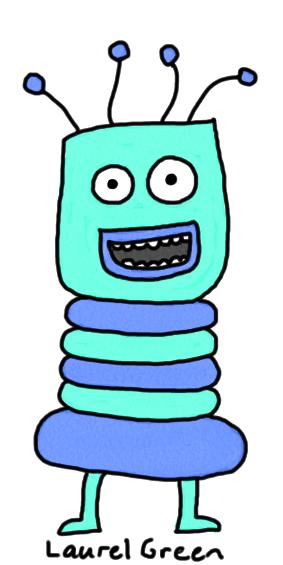 a drawing of troggle snog