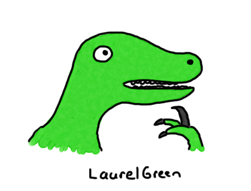a drawing of the philosoraptor