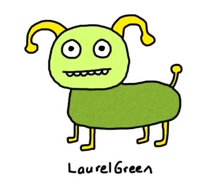 a drawing of a weird quadrupedal creature