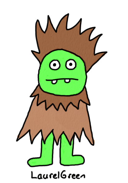 a drawing of a furry guy
