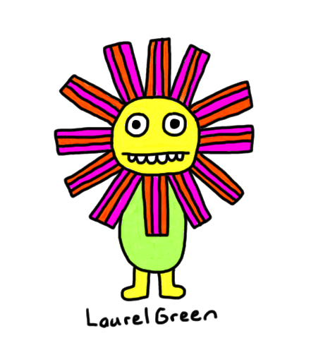 a drawing of a doofy flower