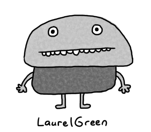 a drawing of a stone creature
